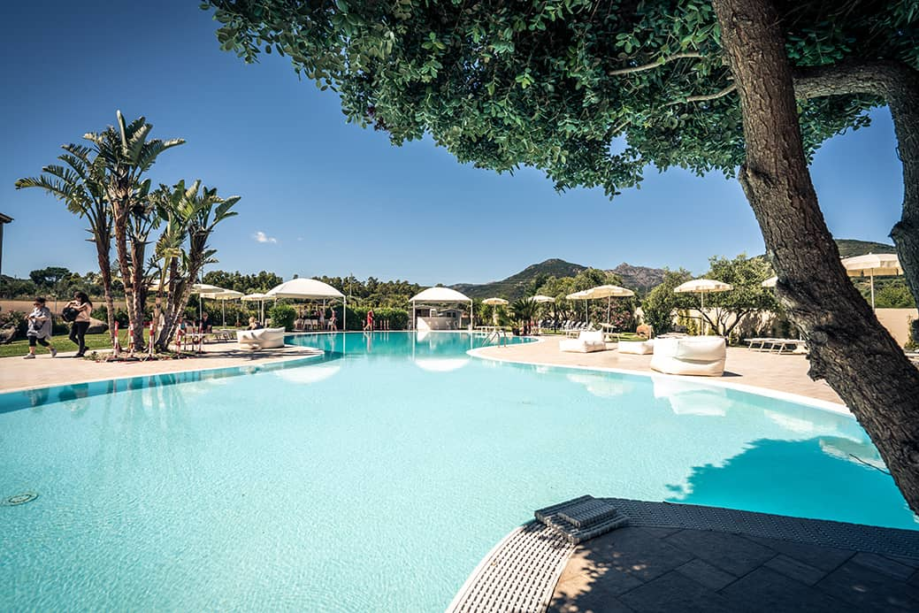 Piscina Hotel San Teodoro