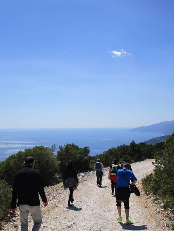 Trekking Cala Luna San Teodoro Sardegna