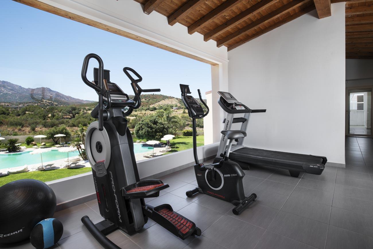 Hotel San Teodoro gym